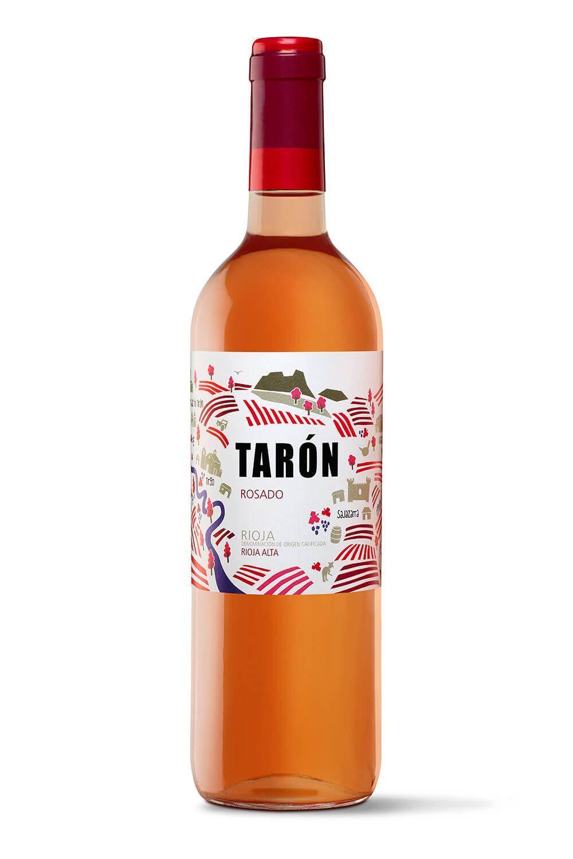 bodegas taron vinos la rioja taron rosado peq