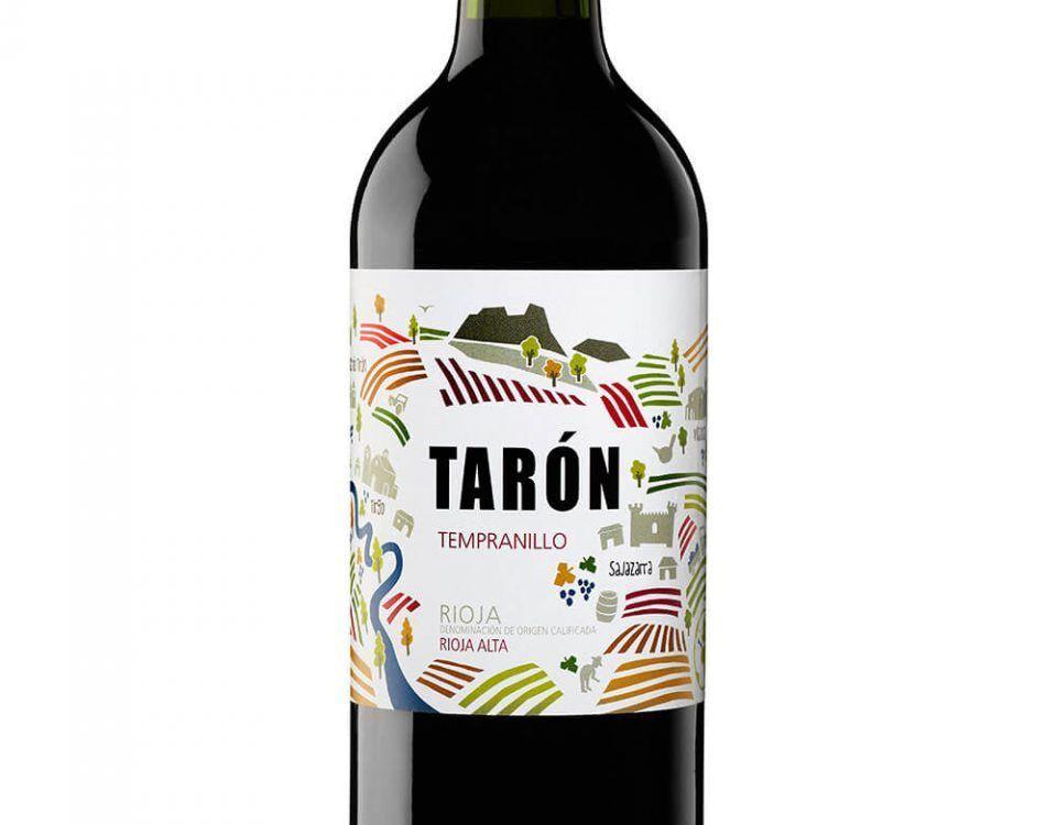 bodegas taron vinos la rioja taron tempranillo
