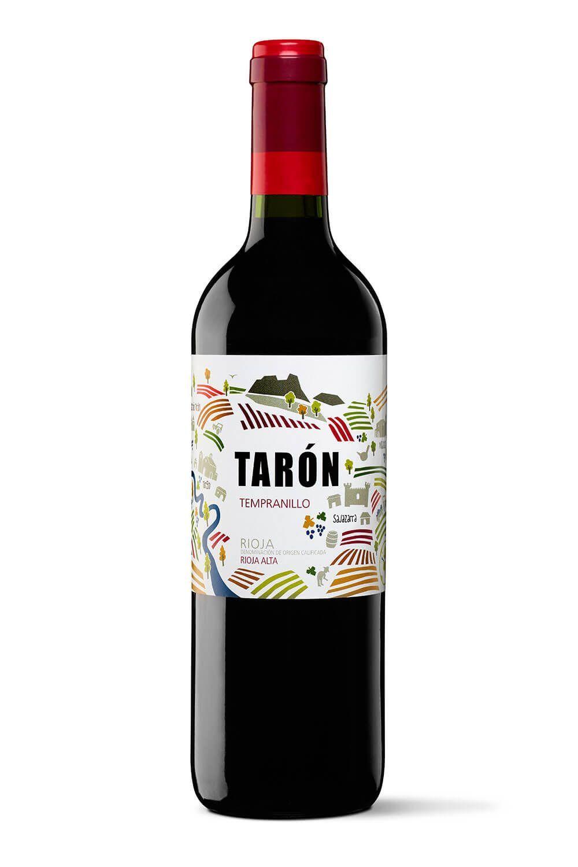 bodegas taron vinos la rioja taron tempranillo peq