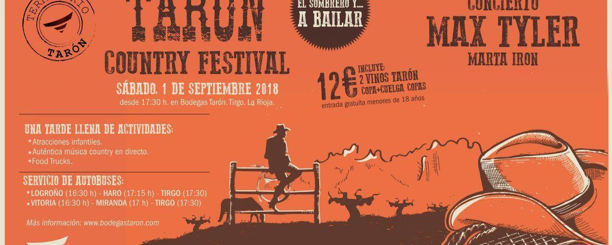 Taron Country Festival Bodegas Tarón
