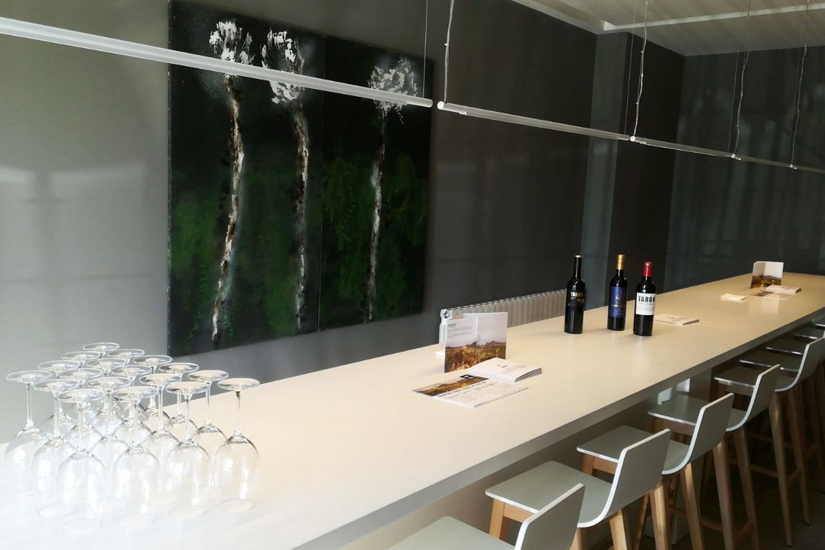 ENOTURISMO la rioja BODEGAS TARON wine bar