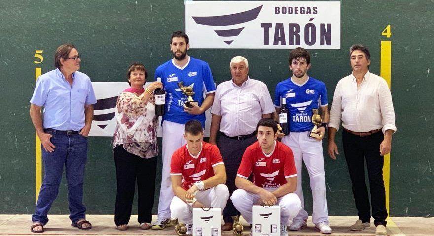 FINAL TORNEO PELOTA BODEGAS TARON