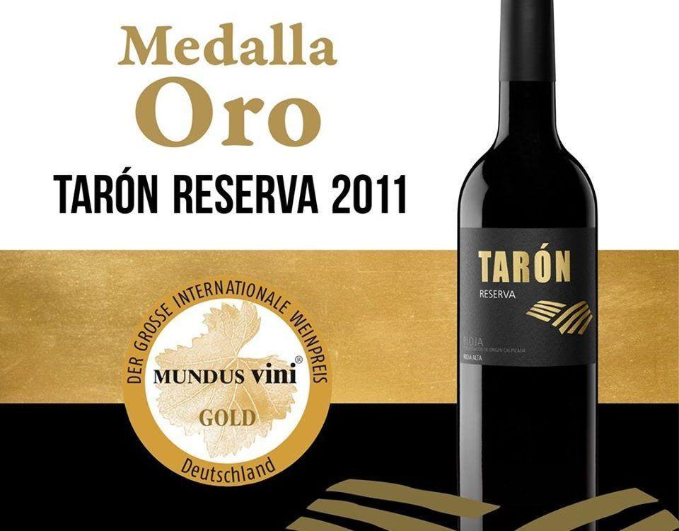 Medalla de Oro Tarón Reserva 2011