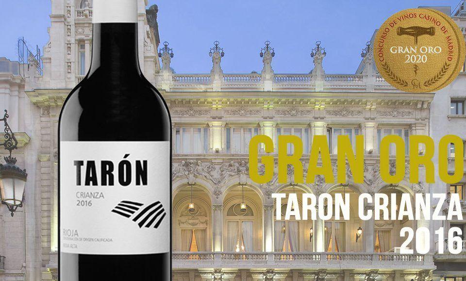 Taron Crianza Premio Madrid
