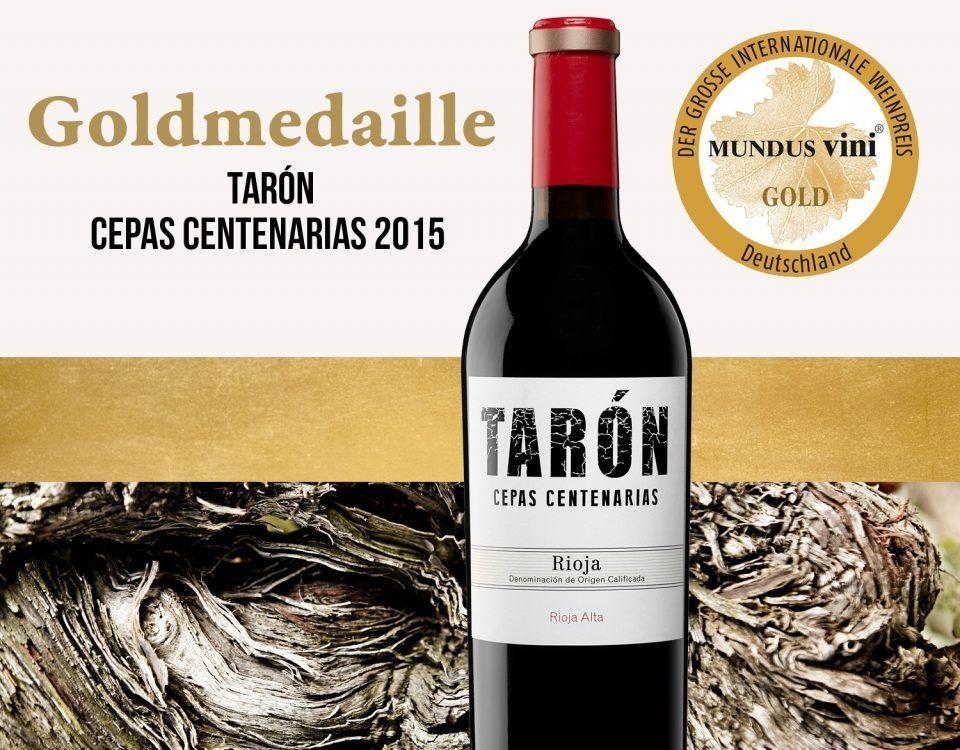 Premio Cepas Bodegas Tarón Mundus Vini 2021