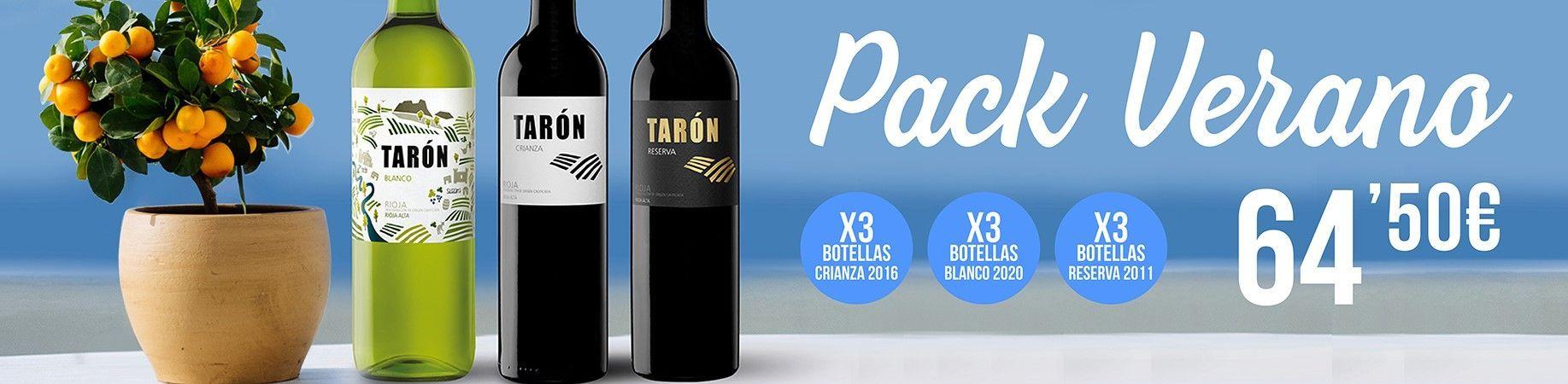 Bodegas Tarón Pack verano banner