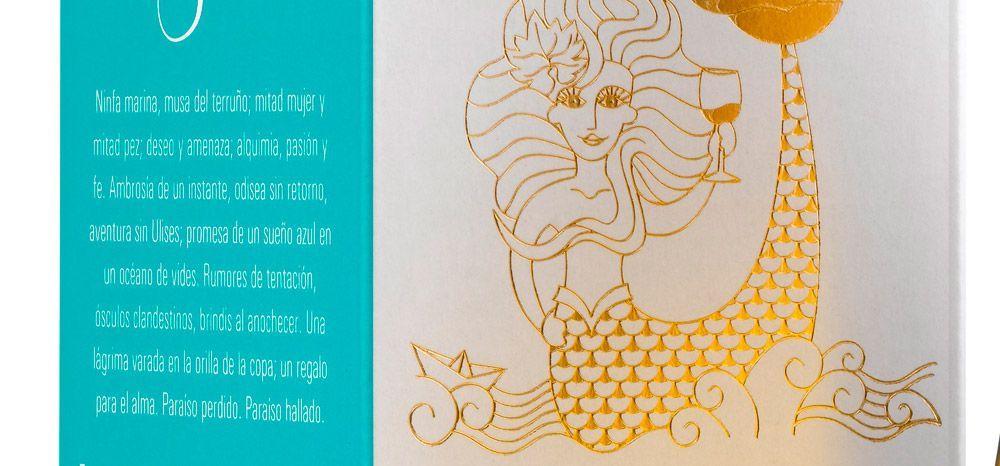 Vinos-de-rioja-alta-Bodegas-taron-enoturismo-Beso-de-Sirena-etiqueta-detalle